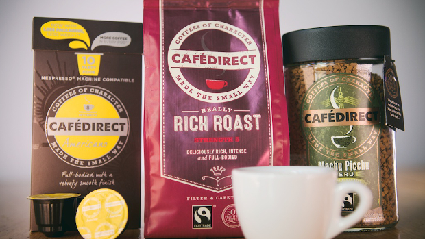 Buy Cafedirect Fairtrade products