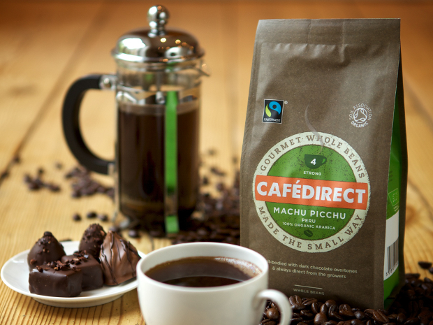Cafedirect Fairtrade Coffee whole beans