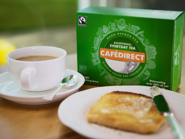 NEW Fairtrade Everyday Tea with toast landscape