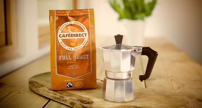 Rich Roast Cafedirect Fairtrade Ground Coffee