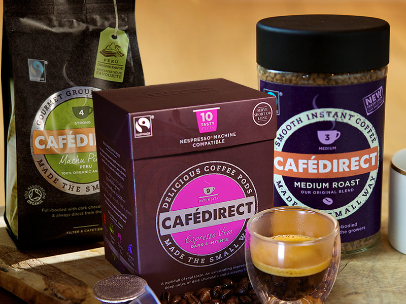 Cafedirect Fair Trade Coffee Tea Amp Cocoa Suppliers