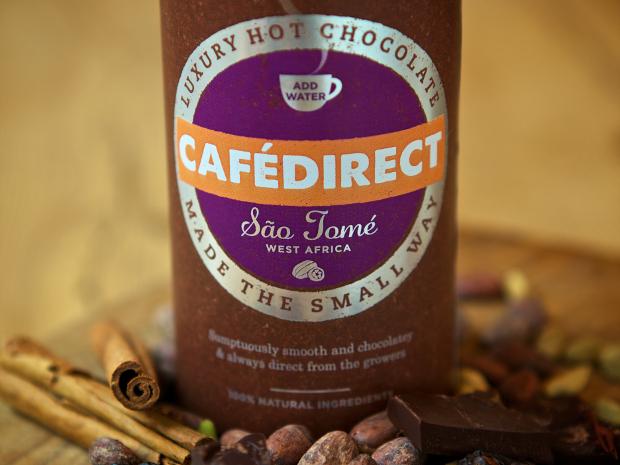 Cafedirect Sao Tome hot chocolate
