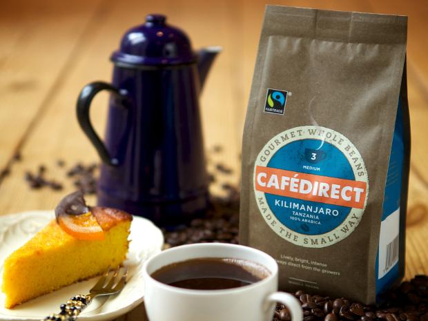 Kilimanjaro Cafedirect Fairtrade Coffee whole beans