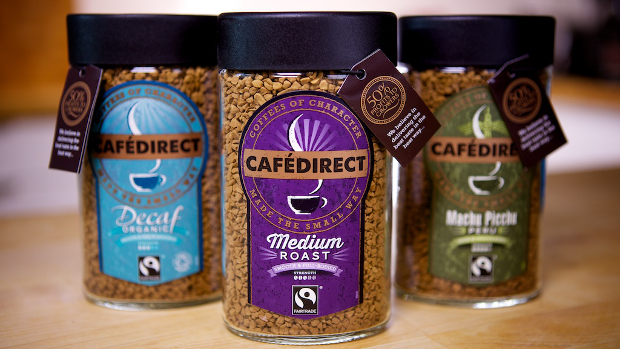 Cafedirect fairtrade instant coffee