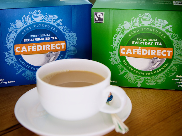 NEW Fairtrade Everyday and Decaf Tea range shot homepage