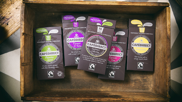 Cafedirect Fairtrade Nespresso Machine compatible pods