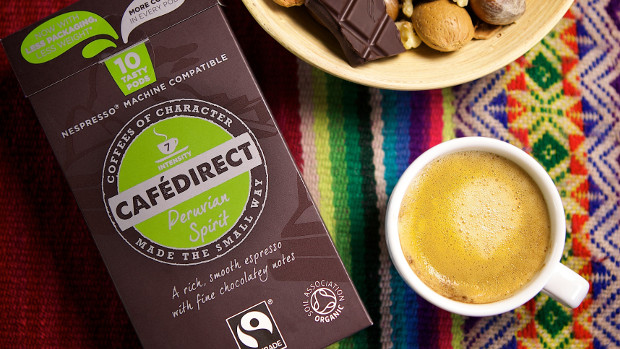 Cafedirect Fairtrade Coffee Pods Peruvian Spirit