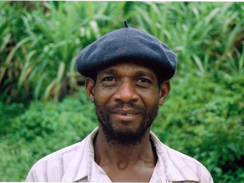 Cafedirect Fairtrade coffee grower in Haiti