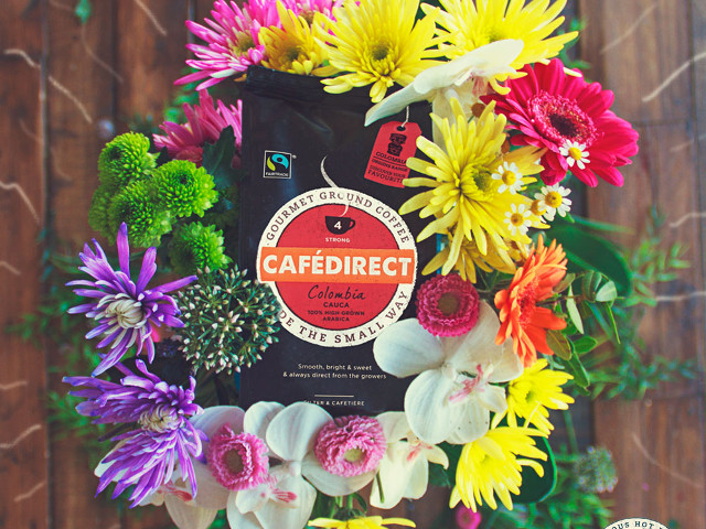 Cafedirect Colombian fairtrade coffee