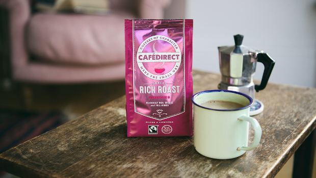 Cafedirect fairtrade coffee rich roast