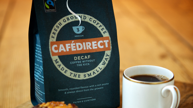 Cafedirect fairtrade coffee decaf