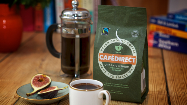 Cafedirect fairtrade organic roast and ground coffee