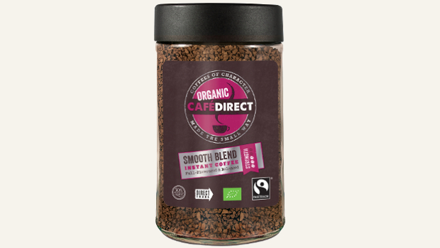 Fairtrade and Organic Instant Coffee