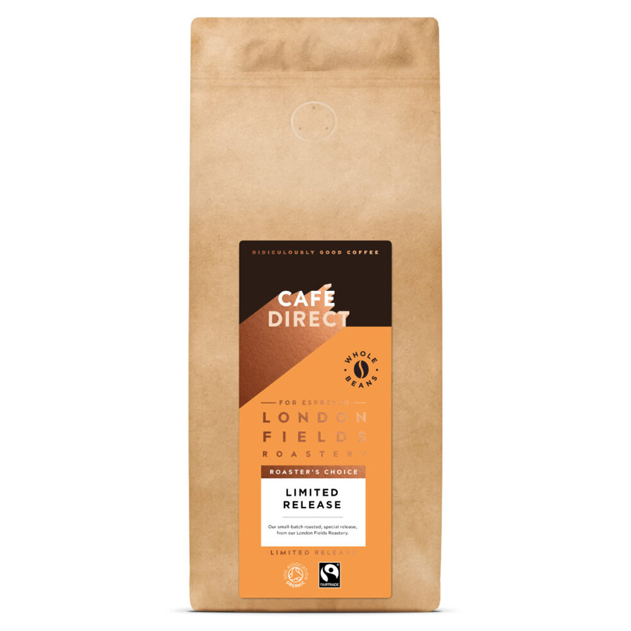 London Fields Roaster's Choice Organic Coffee Beans 1kg