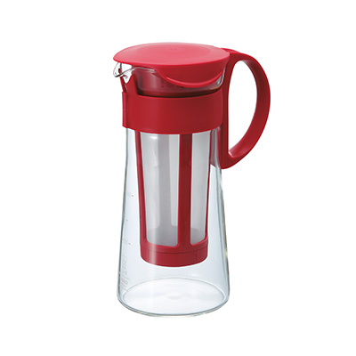 Hario Cold Brew Coffee Maker in Red